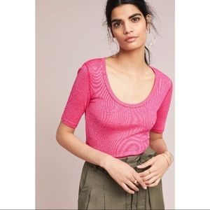 Michae Stars for Anthropologie scoop top